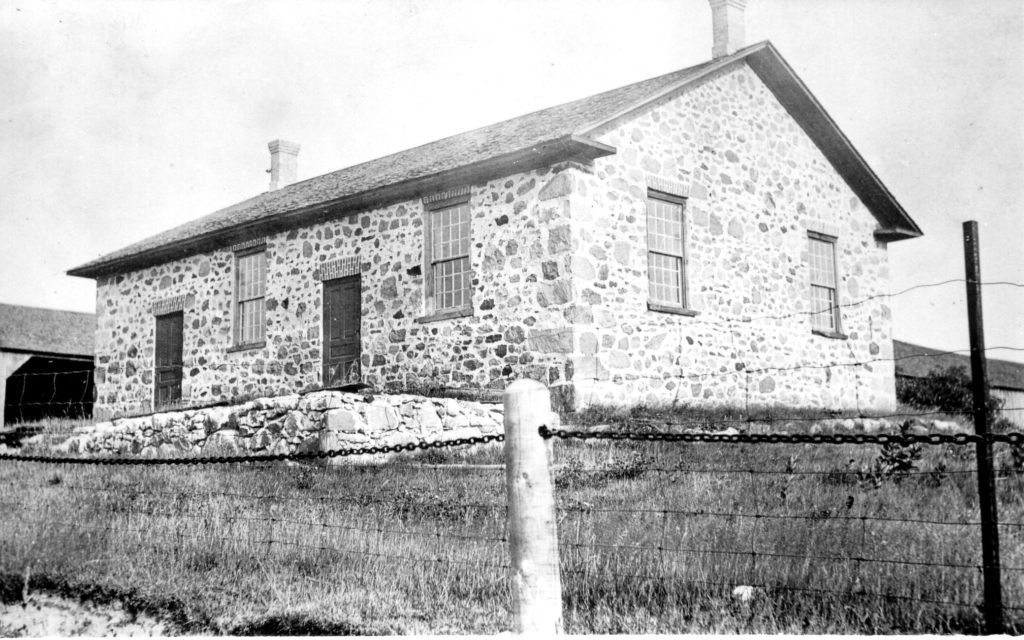 Detweiler Meetinghouse in 1919