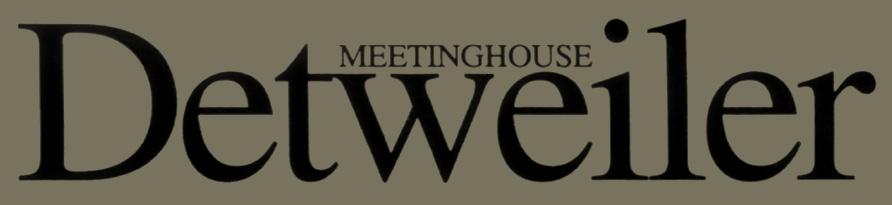 Detweiler Meeting House